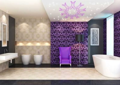 Pix-Light Sternenhimmel Badezimmer