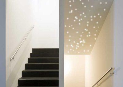 Pix-Light Sternenhimmel Treppenhaus
