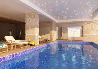 Pix-Light Sternenhimmel Schwimmbad