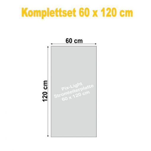 Pix-Light Komplettset 60 x 120 cm