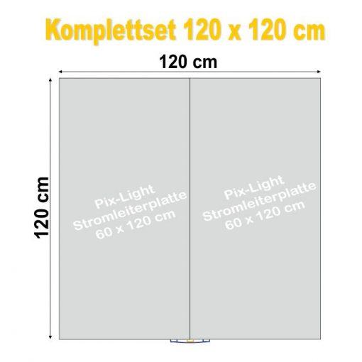 Pix-Light Komplettset 120 x 120 cm