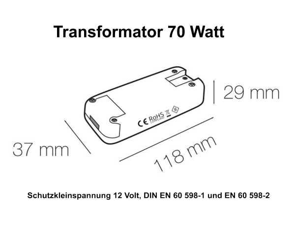 Pix-Light Transformator 70 Watt
