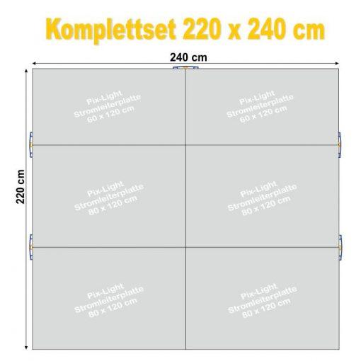 Pix-Light Komplettset 220 x 240 cm