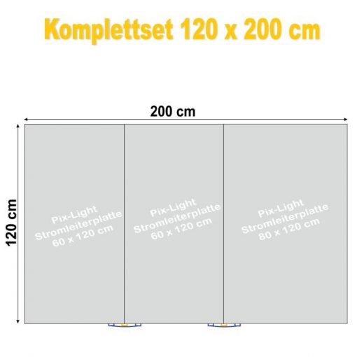 Pix-Light Komplettset 120 x 200 cm