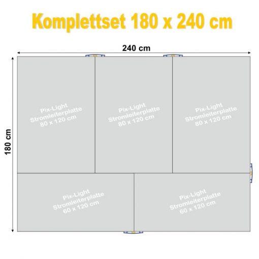 Pix-Light Komplettset 180 x 240 cm