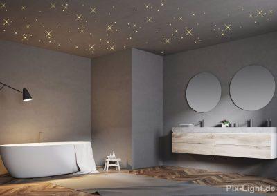 Pix-Light Sternenhimmel Bad